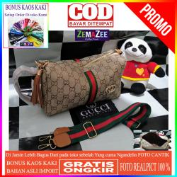 Realpict Tas Gucci Tabung Termurah Super Kanvas Import Super Premium Gc Gucci Tabung Tgc01